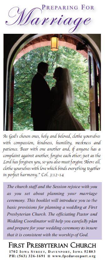 FPC Wedding Brochure